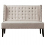 LFSB001 Fabric Banquette Sofa Bench