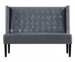 LFSB002 Leather Banquette Sofa Bench