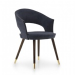 LFU-004 Modern Upholstered Chair with beech wood structure