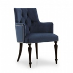 LFU-001 Classic style Fabric Upholstered wood Chair