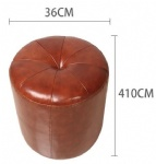 LFFB-004 Leather OTTOMAN for stool and dresser